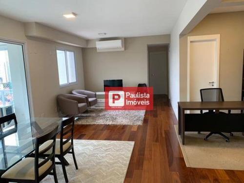 Apartamento Para Alugar, 116 M² Por R$ 7.500,00/mês - Brooklin - São Paulo/sp - Ap32273