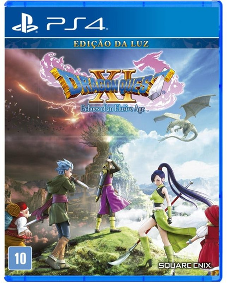 Dragon Quest Xi Echoes Of An Elusive Age Ps4 Novo + Brinde