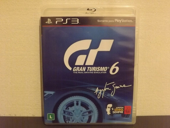 Ps3 Gran Turismo 6 - Completo - Aceito Trocas...