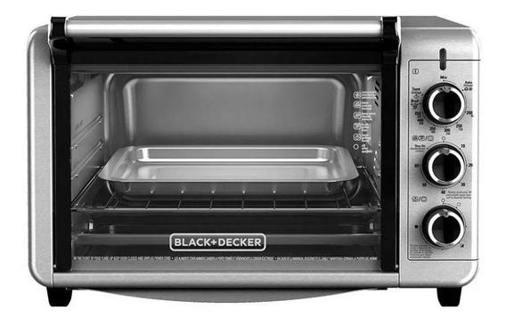 Horno Eléctrico Black Decker To3210ssd 1500w 24 Litros