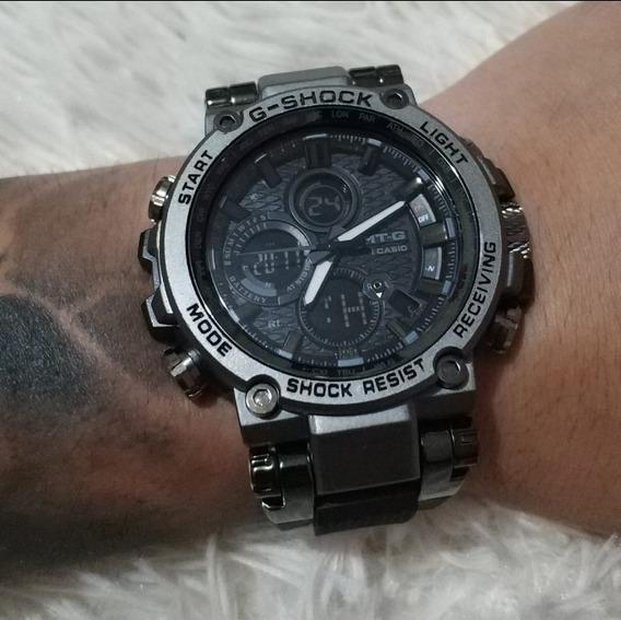 Relógio Masculino Mtg Catraca De Ferro Á Prova D