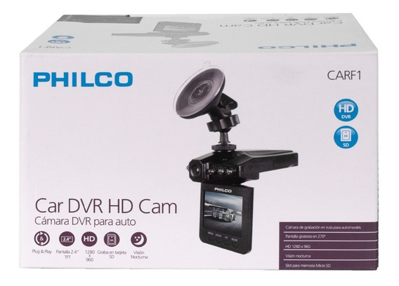 Dash Cam 2.7 Pulgadas | Philco
