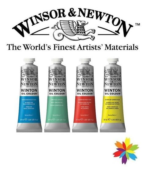 Pack X 10 Oleos Winton Winsor & Newton 37ml