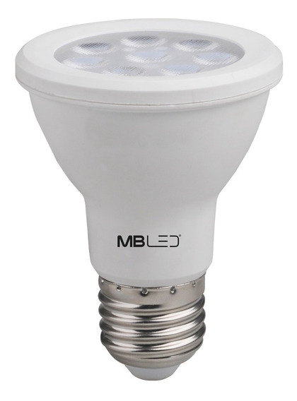 Lampada Led Par20 8w Dimerizavel Quente E27 127v (25 Und)