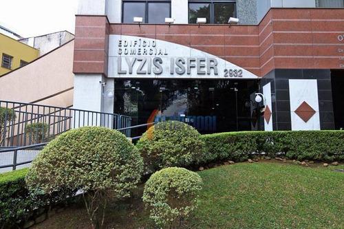 Conjunto Para Alugar, 33 M² Por R$ 1.200,00/mês - Água Verde - Curitiba/pr - Cj0022