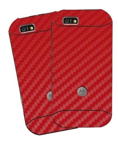 Adesivo Vermelho Fibra De Carbono Moldável Envelopamento