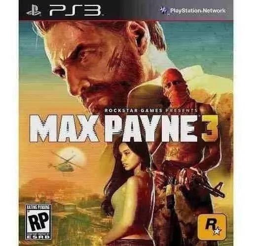 Max Payne 3 - Portugues - Jogos Ps3 Playstation 3