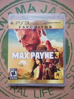 Max Payne 3 Ps3 Usado
