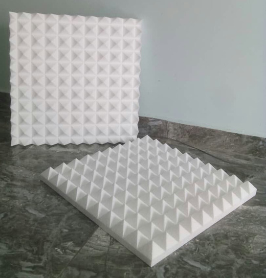 Termo Acustico Aislante Panel Piramidal 50x50cmx5cm