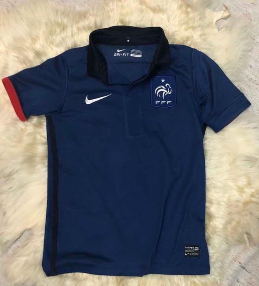 Camiseta Chomba De Niños Selección De Francia