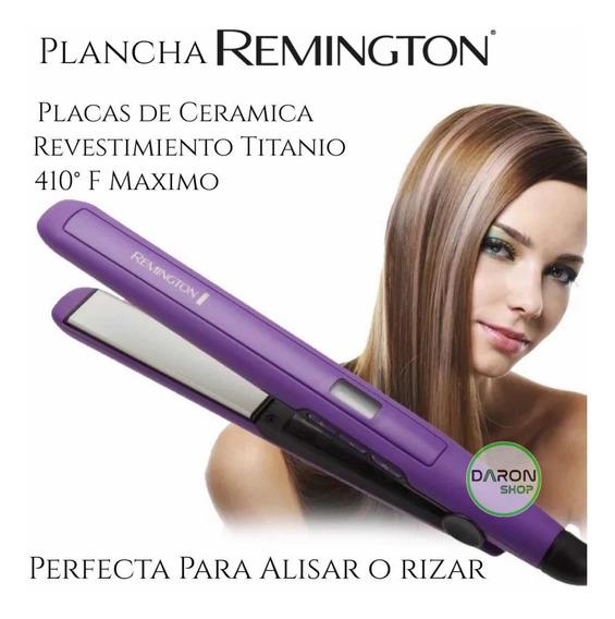 Plancha Remington S5500 Ceramica 100% Original