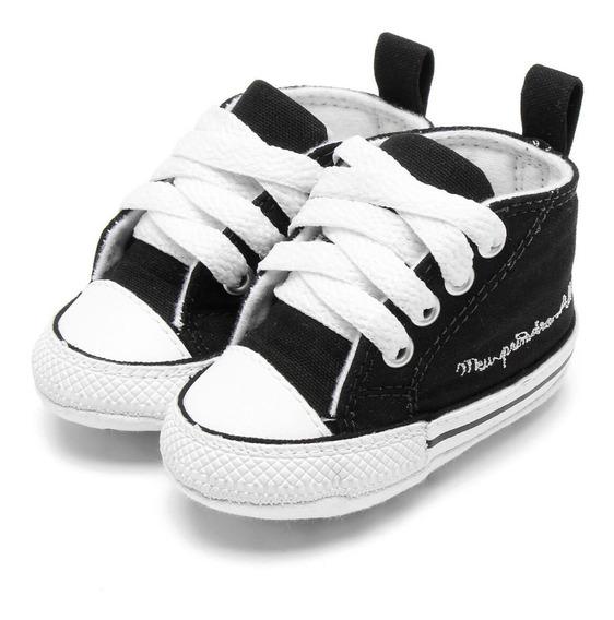 Tênis Infantil Converse My First All Star Preto - Ck0440