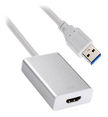 Cable Adaptador Tarjeta Video Usb 3.0 A Hdmi 1080p