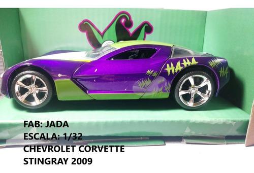 Chevrolet Corvette Stingray, Escala 1/32 Carro De Coleccion