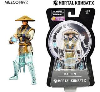 Mortal Kombat X - Raiden - Mezco Toyz - Videojuego