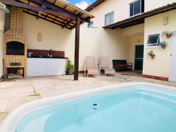 Casa Em Guaribas, Eusébio/ce De 110m² 3 Quartos À Venda Por R$ 338.000,00 - Ca224417