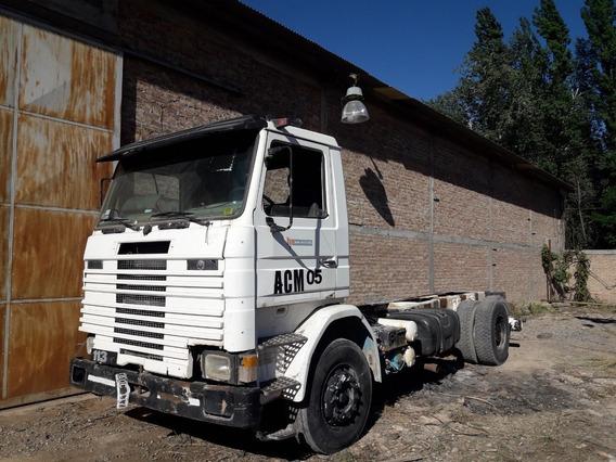 Scania 113, Doble Diferencia, Chasis Largo