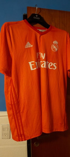 Camiseta Real Madrid Suplente
