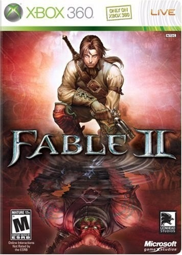 Manual De Instruções Do Jogo Fable 2 / Xbox
