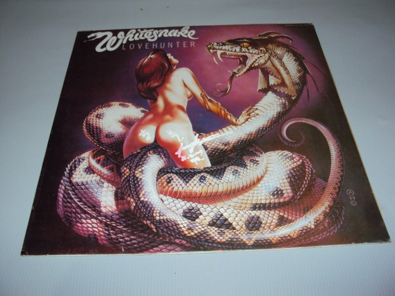 Lp Whitesnake Love Hunter Japan Ver Descricao