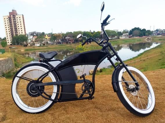 Bicicleta Elétrica Modelo Cruiser 1500w 48v Marca Wind Bikes