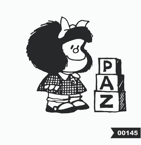 Vinilos Decorativos Frases Pared Vidrio Mafalda Ventanas