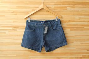 Shorts Feminino Jeans Curto Hering Tamanho 38 Novo