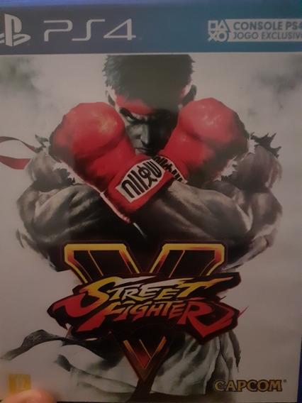 Jogo Street Fighter V Para Ps4