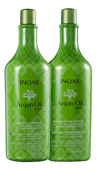 Kit Inoar Argan Oil Shampoo + Condicionador Blz