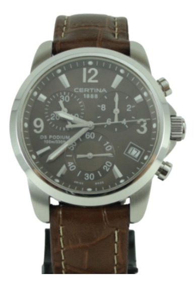Relógio Certina Ds Podium - Swiss Made - Wr 100 Mts