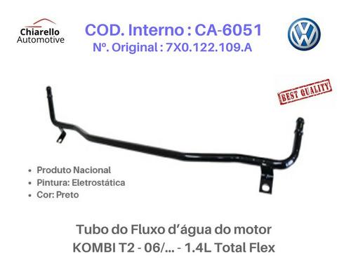 Tubo Dágua Do Motor Kombi T2 - 06/ 1.4l Total Flex