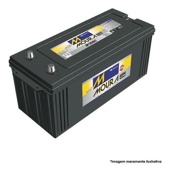 Bateria 180 Amperes Log Diesel Caminhao Base De Troca M180bd