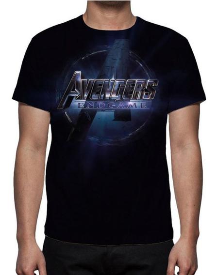 Camisa, Camiseta Vingadores Ultimato Logo - Promoção