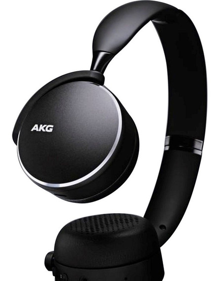Fone Bluetooth Akg Y500 Samsung On Ear Original Novo Preto