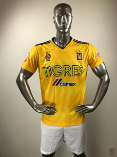 Tigres Local Uniforme Futbol Jersey Playera Personalizada