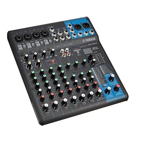 Yamaha Mg10-xu Consola Mixer 10 Canales Usb Mg10xu En Cuotas