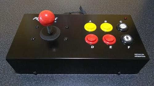 Playcade Family Joystick Arcade  Para Family Game De 9 Pines