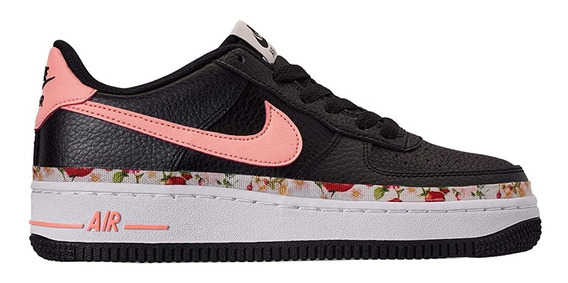 Zapatillas Nike Air Force 1 Vf (gs) Niñas Urbanas Bq2501-001