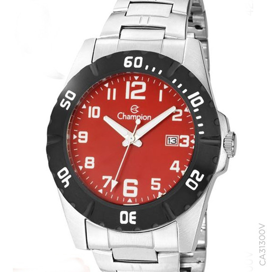 Relógio Champion Original Masculino Ca31300v C/ N. Fiscal