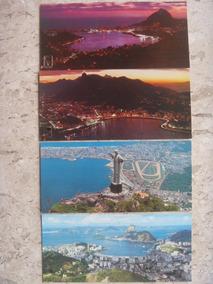 Quatro Cartões Postais Rio De Janeiro Da Década De Setenta
