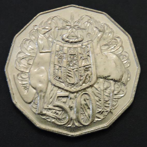 Australia 50/20/10 Centavos De Dólar Australiano