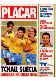 5 Revistas Digitalizados Placar Especial Copa Do Mundo 1990