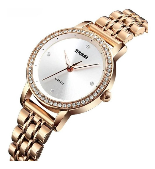 Relógio Feminino Skmei Analógico 1311 Rose
