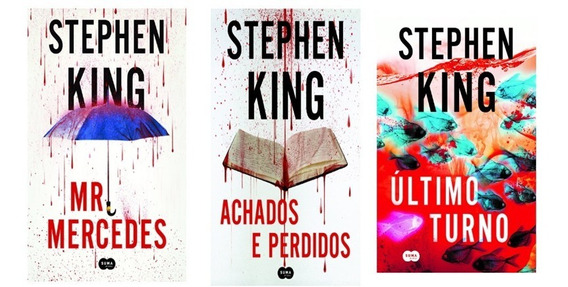 Trilogia Stephnen King Mr. Mercedes+ult.turno+achados E Perd
