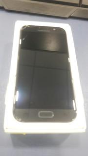 Celular Galaxy A5 2017 Placa E Bateria Boas, Tela Queimada