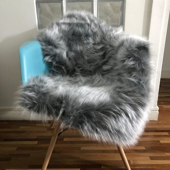 Manta Pelego Pelo Alto Sofás/cadeiras 1,60 X 50 Newborn
