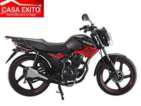 Moto Shineray Xy150-10f Año 2018 Color Rojo / Negro