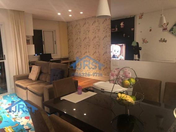 Apartamento Com 2 Dormitórios À Venda, 68 M² Por R$ 400.000 - Aldeia Da Serra - Barueri/sp - Ap2709