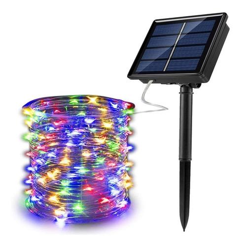 Guirnalda Luces Solares 26m 240led Decoración Navideña Luz
