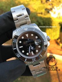 Relogio Rolex Submariner Preto Automatico